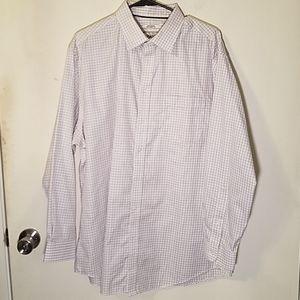 JOS. A BANK Non-Iron Tailor Fix Dress Shirt